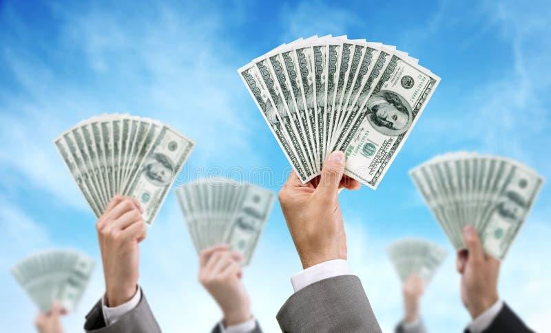 Finances et investissement de placement de foule photo libre de droits