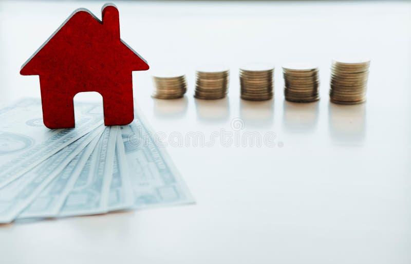 Finances et opérations bancaires au sujet de concept de Chambre images stock