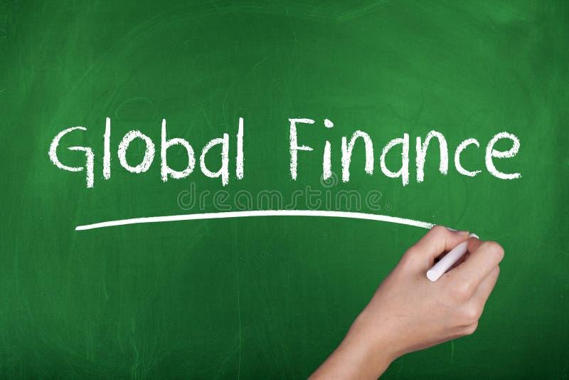 Finances globales photographie stock