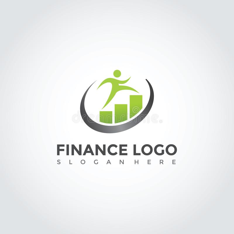 Finances Logo Template Design Illustration ENV de vecteur 10 illustration de vecteur