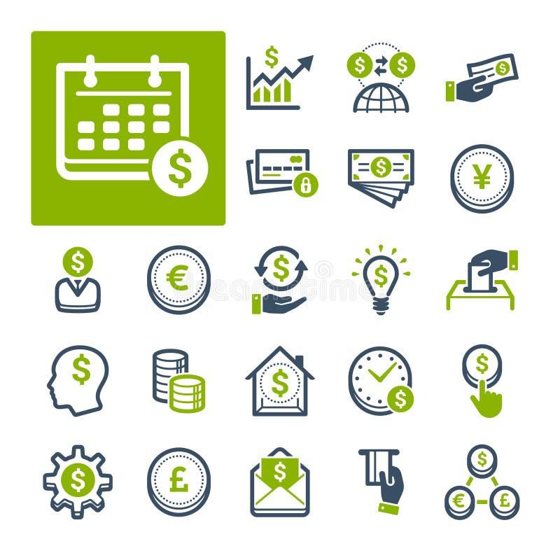 Finances, opérations bancaires et devise (partie 1) image stock