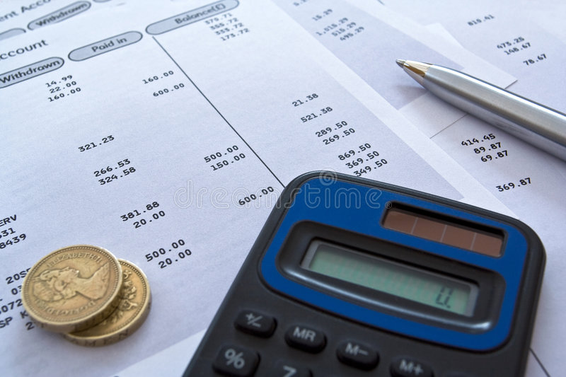 Finances personnelles images stock