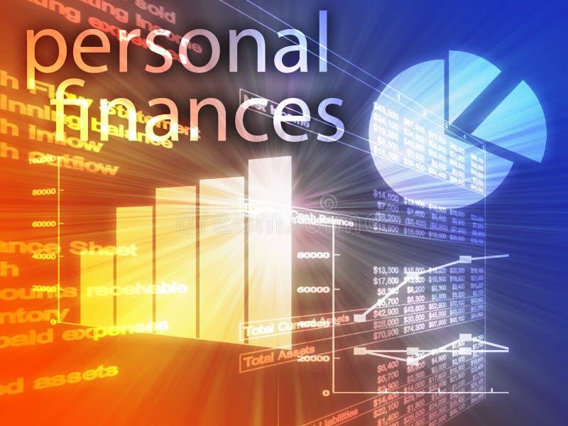 Finances personnelles illustration stock