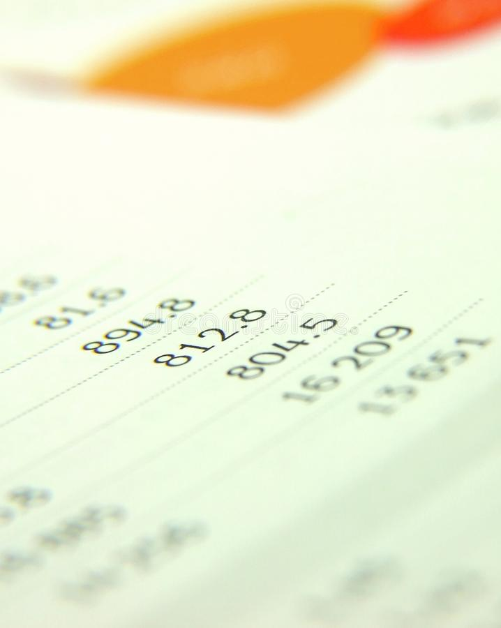 Download Finances Report Royalty Free Stock Images - Image: 10476679