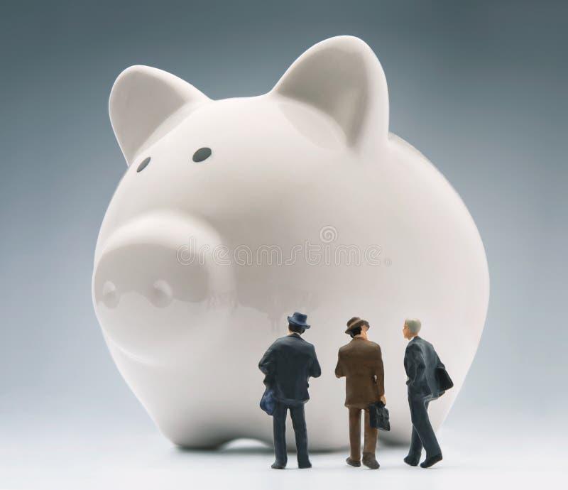 Financiële analisys stock afbeeldingen