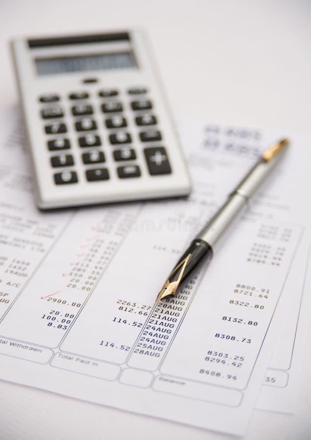 Financiële beoordeling. royalty-vrije stock fotografie
