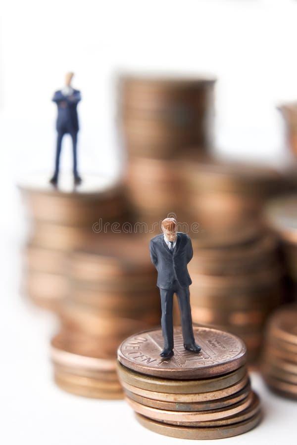 Financiële besluiten royalty-vrije stock afbeeldingen