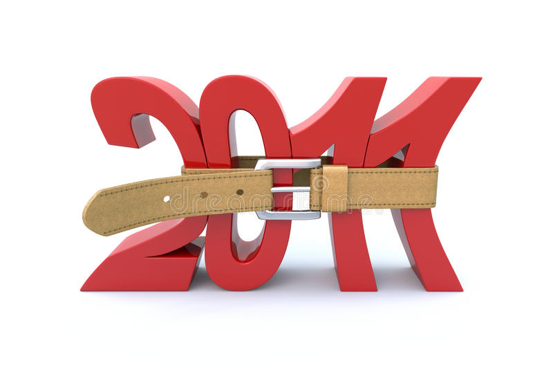 Financiële crisis in 2011 vector illustratie