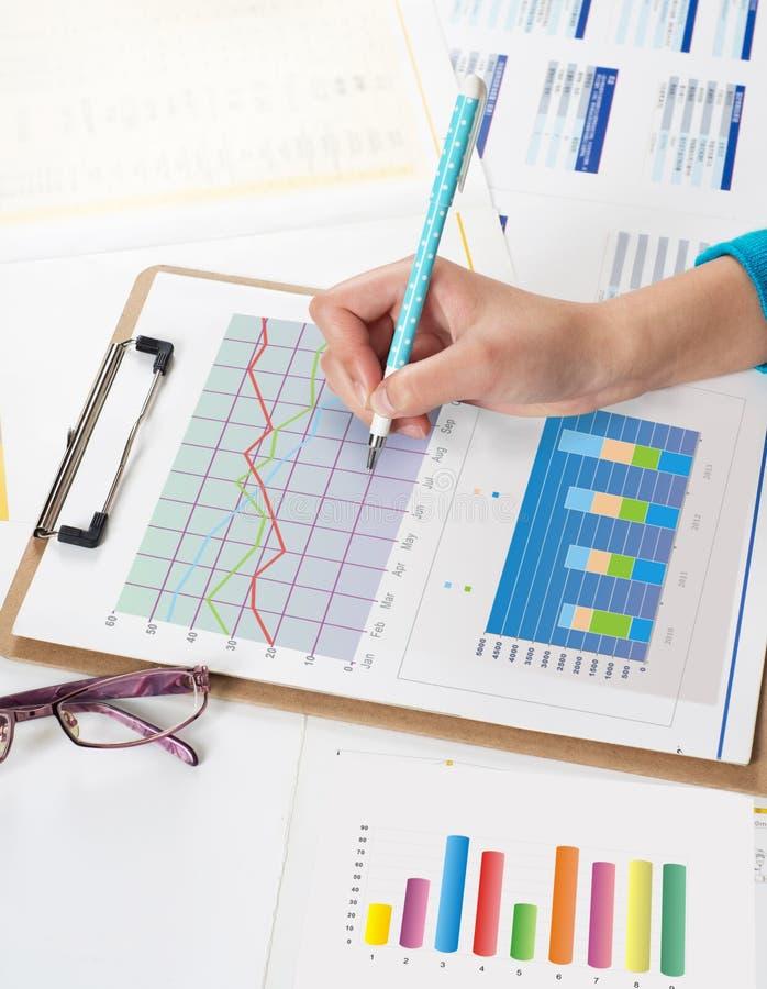 Financiële Gegevens Stock Afbeeldingen