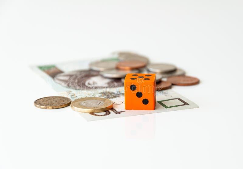 Financiële gok royalty-vrije stock afbeelding