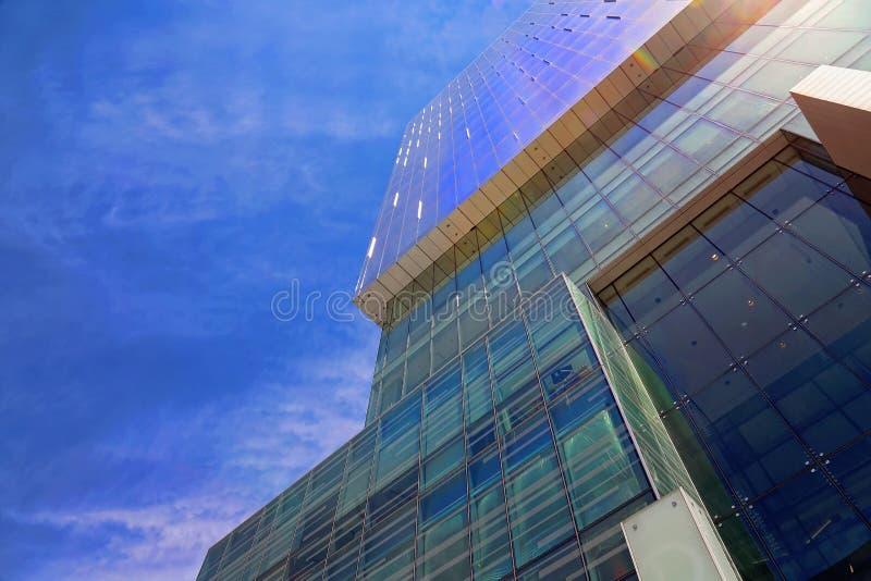 Financiële het districtshorizon van Toronto stock fotografie