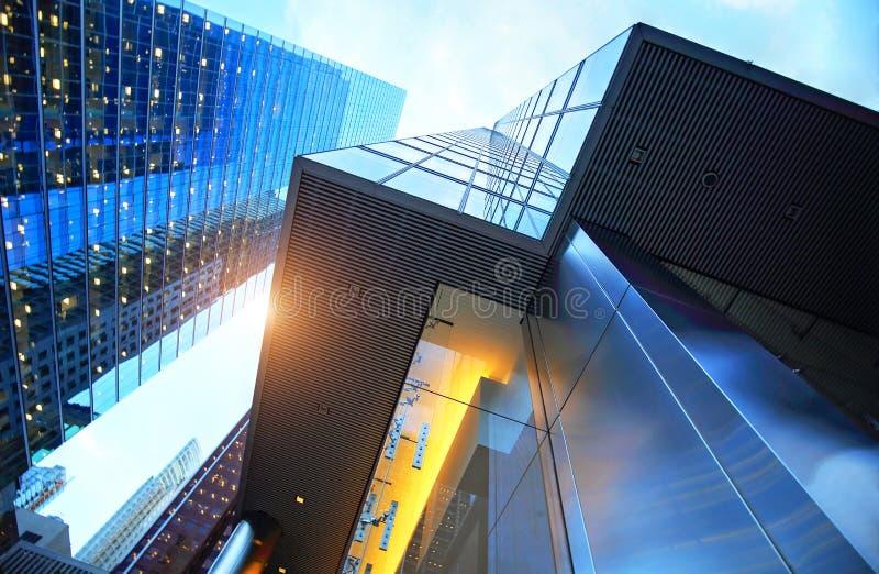 Financiële het districtshorizon van Toronto royalty-vrije stock fotografie
