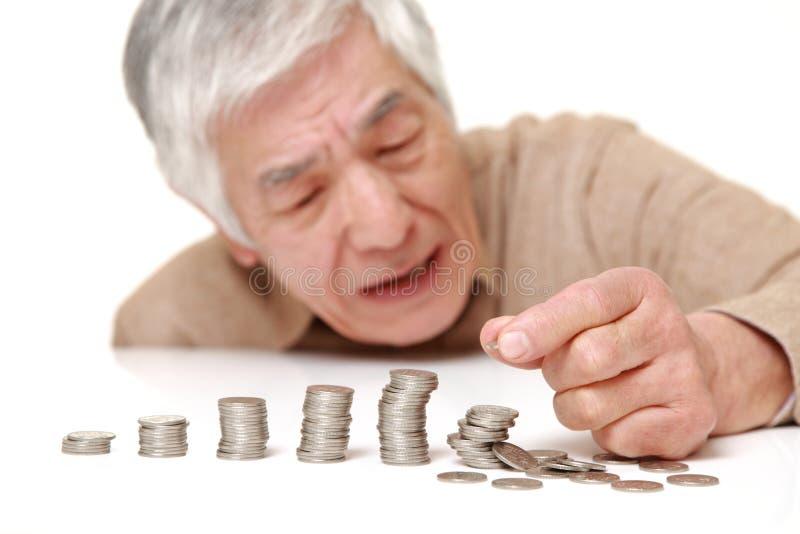 Financiële instorting royalty-vrije stock foto's