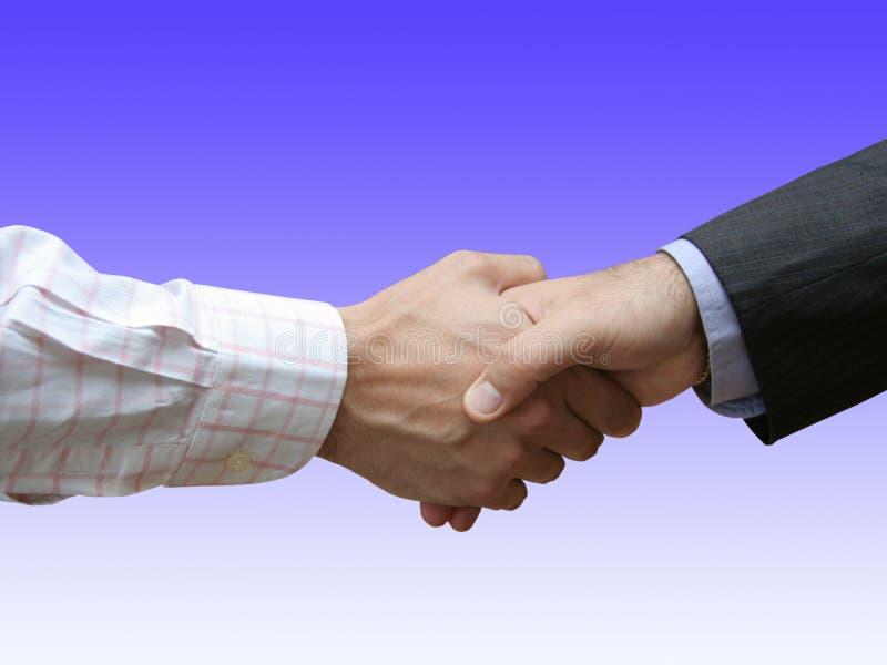 Financiële overeenkomst in het bureau