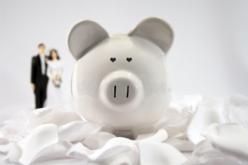 Financiële Toekomst - Huwelijk royalty-vrije stock foto