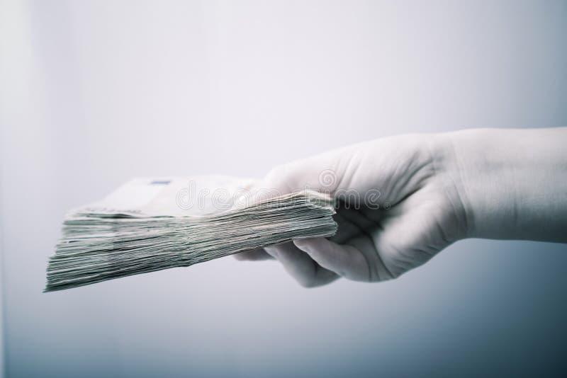 Financiële transactie stock foto's