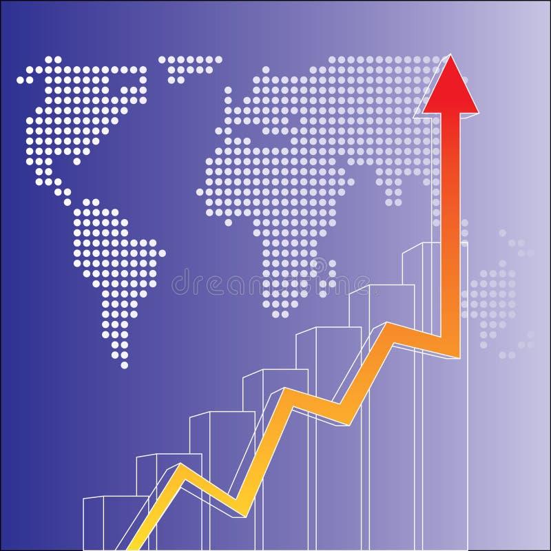 Financiële vector vector illustratie