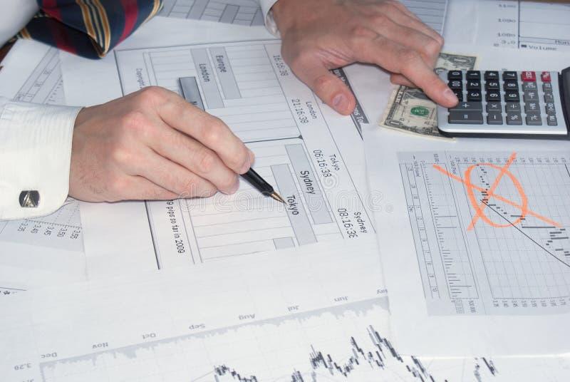 Financiële zaken stock foto's