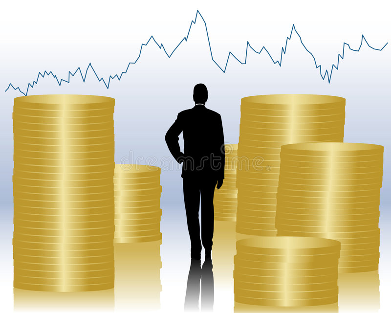 Financiën royalty-vrije illustratie