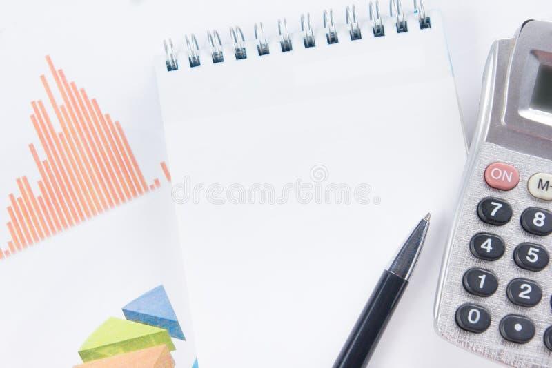 Financiënconcept - Financiële boekhoudingsvoorraad stock foto