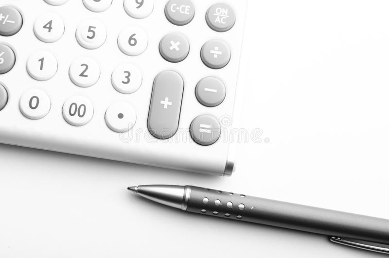 Financial accounting royalty free stock photo
