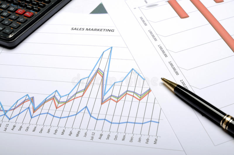 Financial Accounting Concept stock image