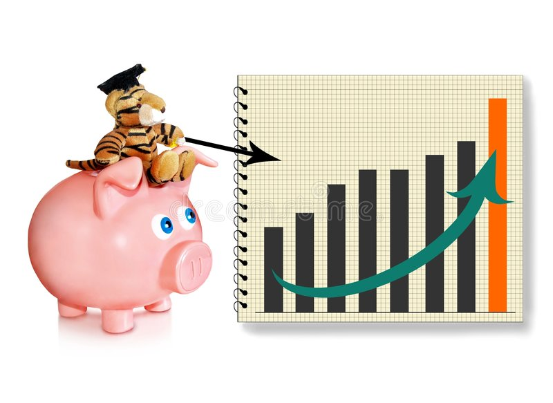 Financial adviser stock photography