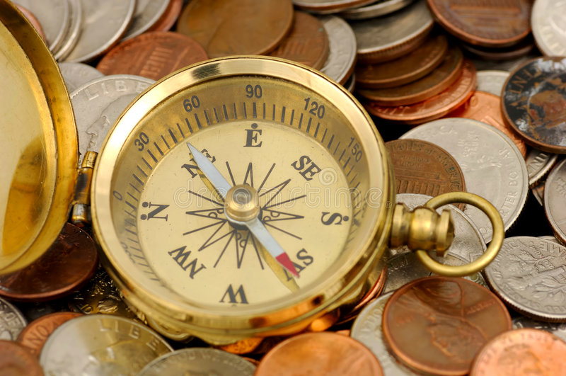 Download Financial Advisor stock photo. Image of compass, market - 455338