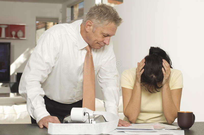 Download Financial Advisor With Female Client In Office Stock Image - Image: 29661263