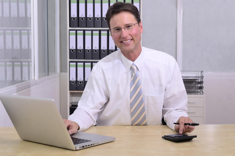 Download Financial Advisor At Office Stock Photo - Image: 23733824