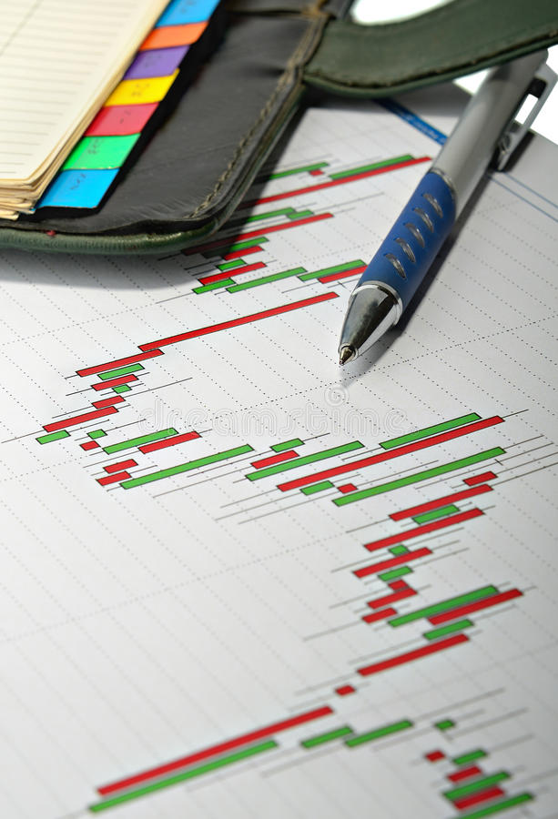 Financial analysis royalty free stock photo