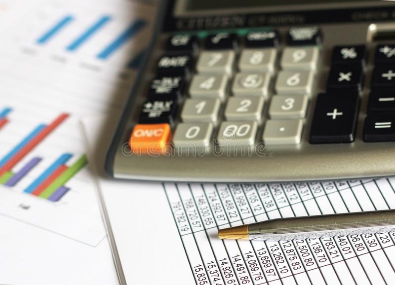 Financial Analysis Accounting stock image