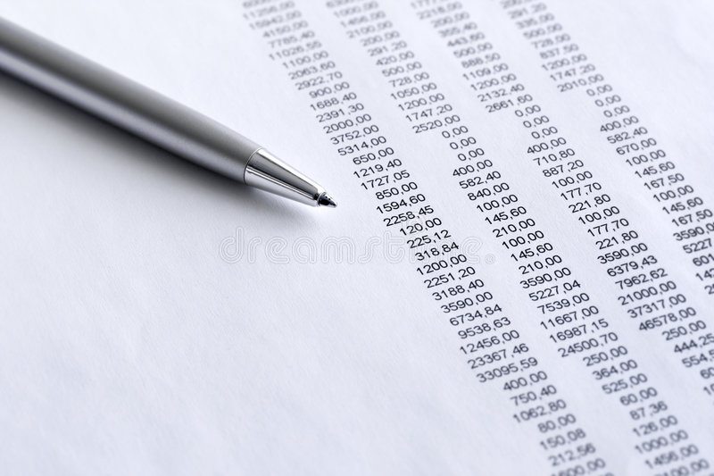 Download Financial  analyze stock image. Image of analyzing, close - 8556025