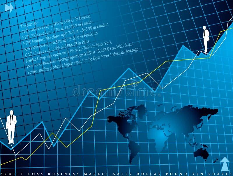 Financial background vector illustration