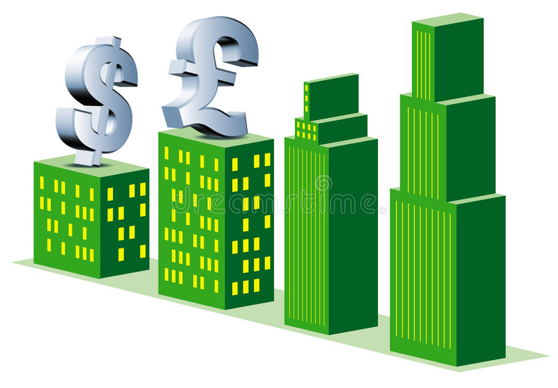 Financial banking stock illustration