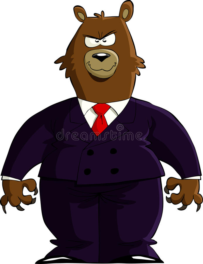 Download Financial Bear Royalty Free Stock Image - Image: 23303396