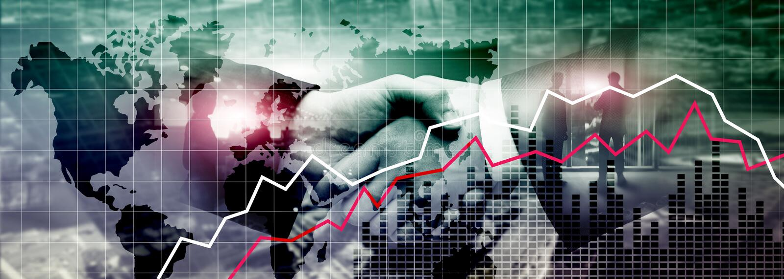 Financial Business Crysis Recession Economic concept. 2.0. Financial Business Crysis Recession Economic concept. 2 stock photo