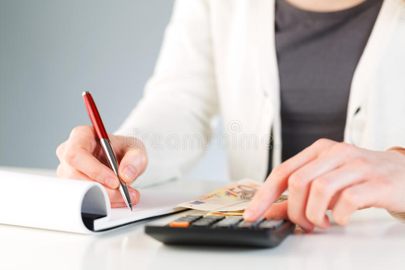 Download Financial Calculations - Business Accounting Stock Image - Image: 29566091