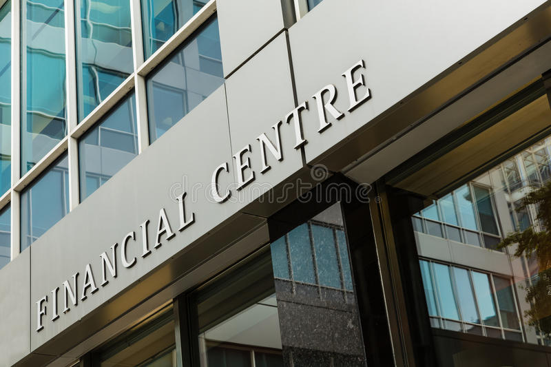 Financial Centre stock images