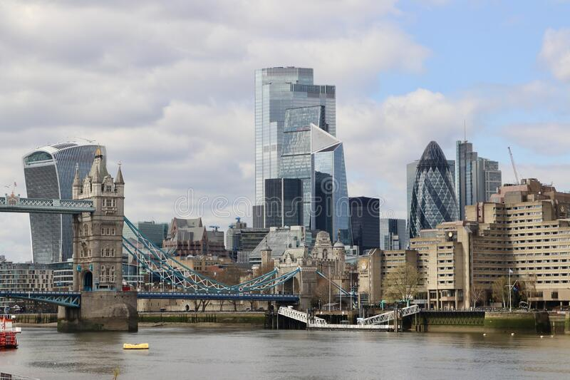 The city of London, Great Britain royalty free stock photography