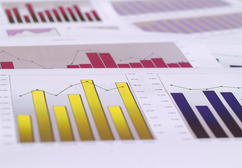 Download Financial charts stock image. Image of investor, chart - 976419