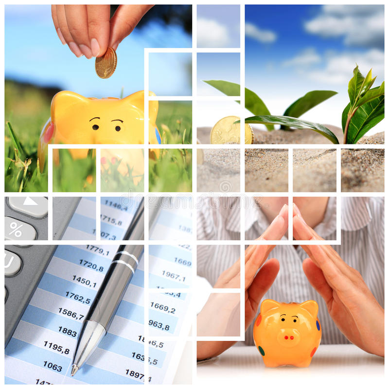 Financial Concept. Royalty Free Stock Images