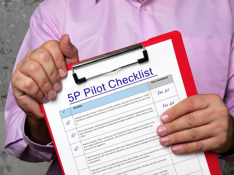 Pilot Checklist Photos - Free & Royalty-Free Stock Photos from Dreamstime