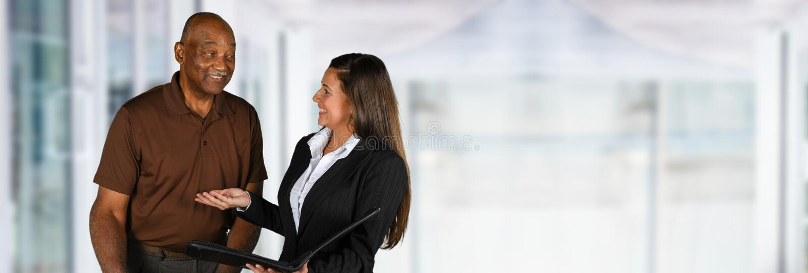 Financial Counseling stock photography