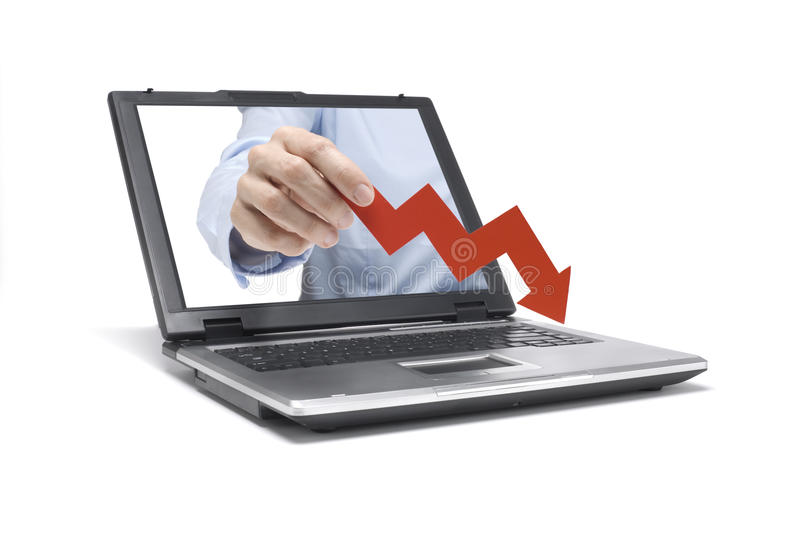 Financial Crisis Royalty Free Stock Images