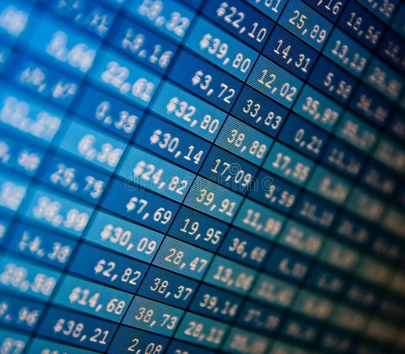 Download Financial Data- Stock Exchange Stock Image - Image: 12363305