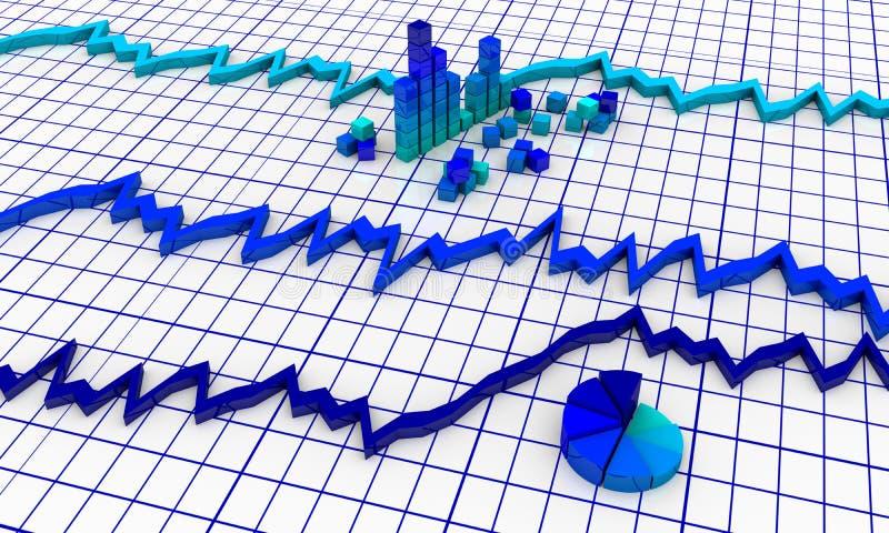 Download Financial diagrams stock illustration. Image of economic - 24688316