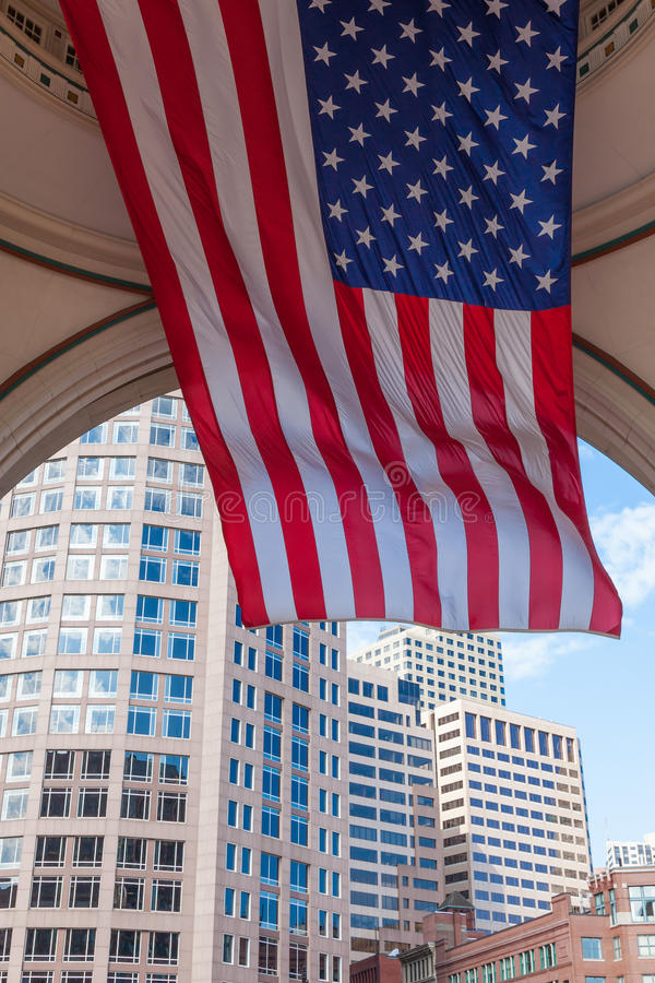 Download The Financial District Of Boston Stock Image - Image: 26624459