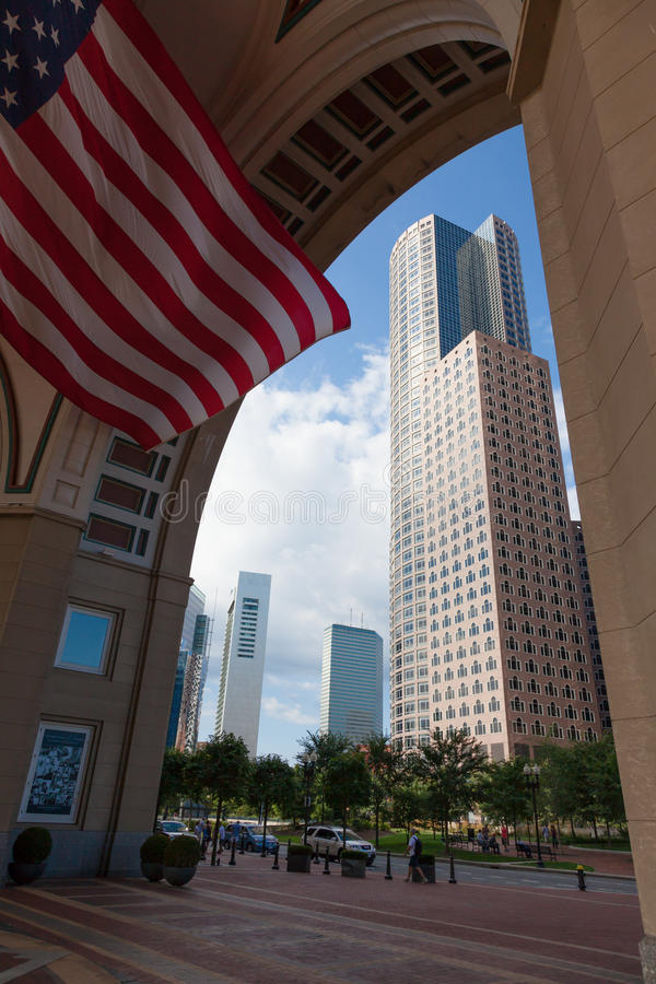 Download The Financial District Of Boston Stock Image - Image: 26624515