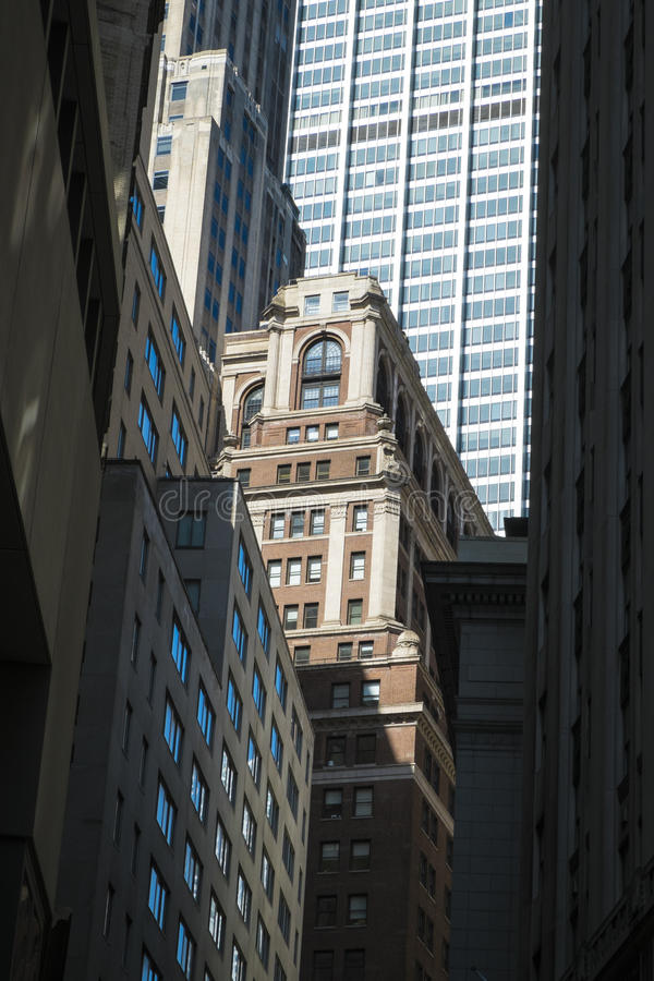 Financial District buildings, New York City